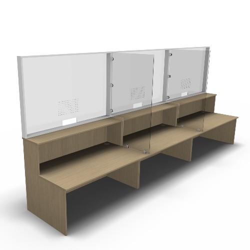 Protective Reception Screens