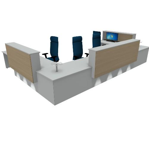 Paraverse Reception counter